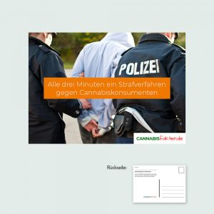 Postkarte Strafverfahren